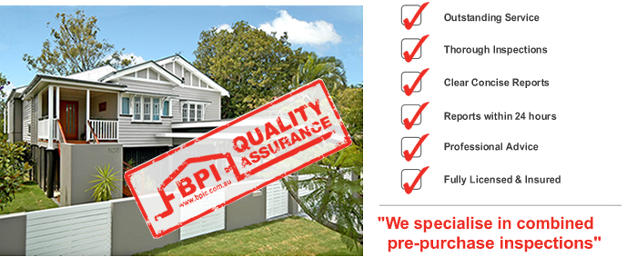 BPI Building & Pest Inspections Brisbane North quality assurance image